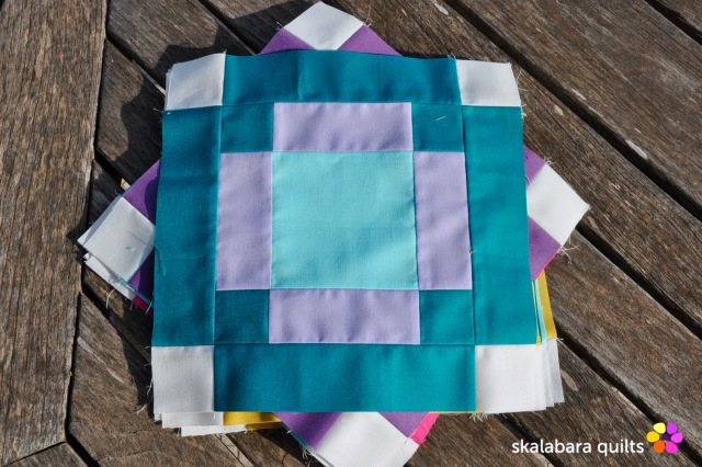 radiate block 11 - skalabara quilts