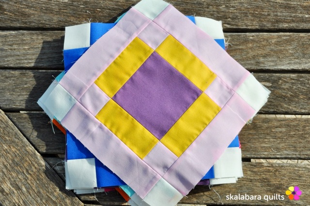 radiate block 12 - skalabara quilts