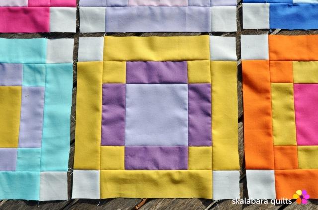radiate block 3 - skalabara quilts