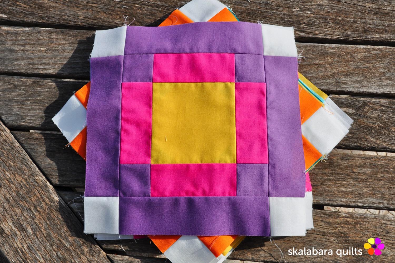 radiate block 8 - skalabara quilts