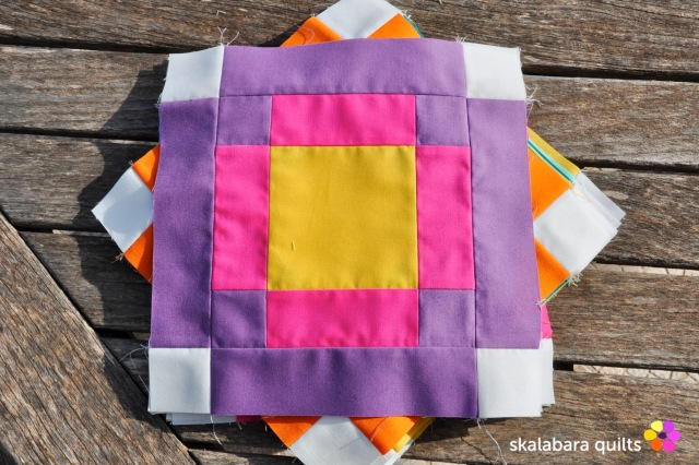 radiate block 8 - skalabara quilts