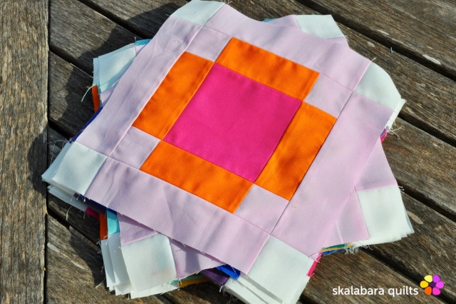 radiate block 9 - skalabara quilts