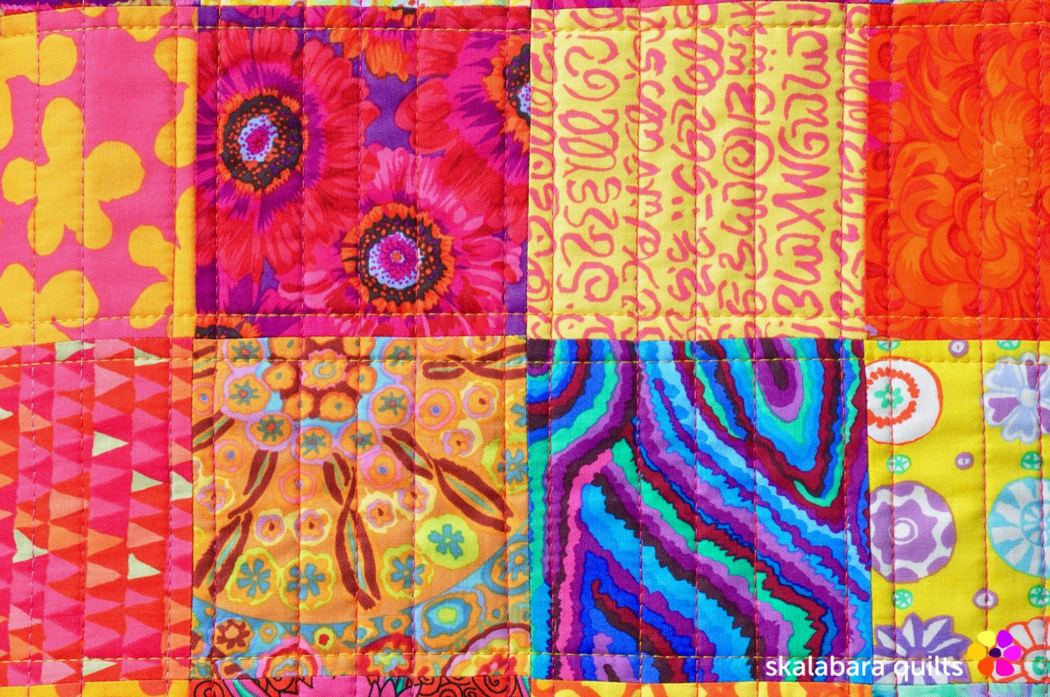 sewing machine cover detail 1 - skalabara quilts