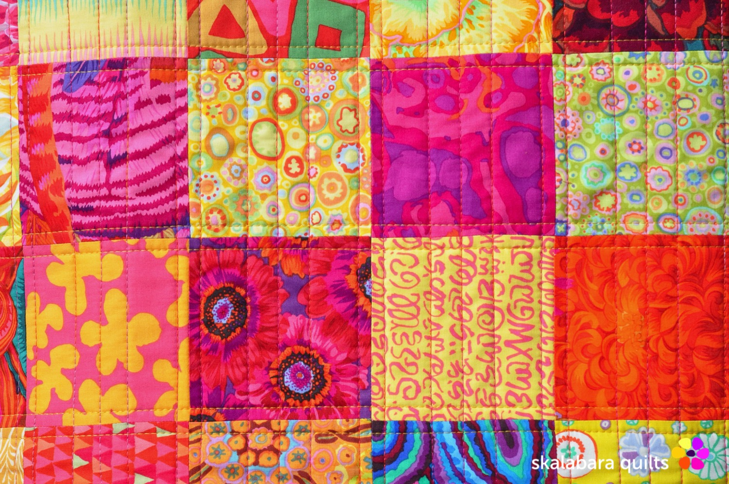 sewing machine cover detail 2 - skalabara quilts