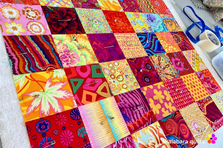 sewing machine cover sandwich 1 - skalabara quilts