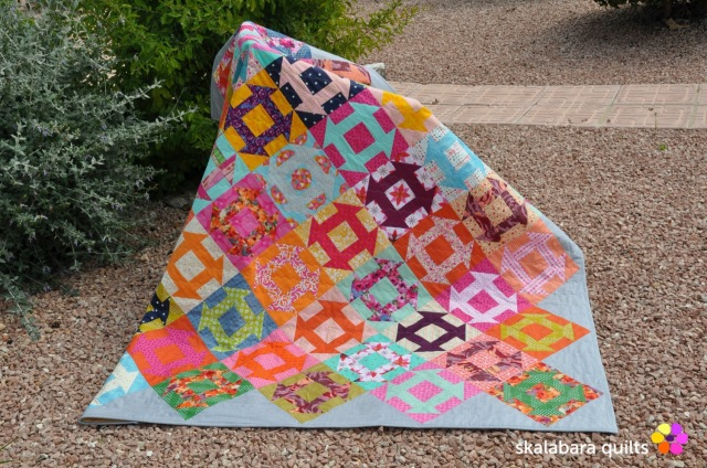 churn dash quilt 5 - skalabara quilts