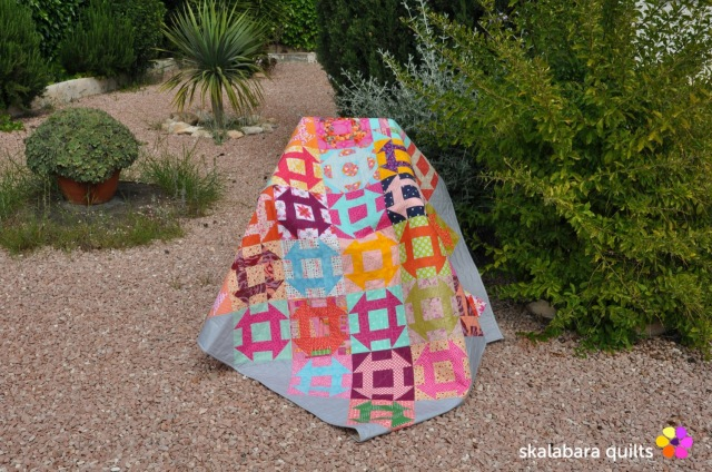 churn dash quilt 6 - skalabara quilts