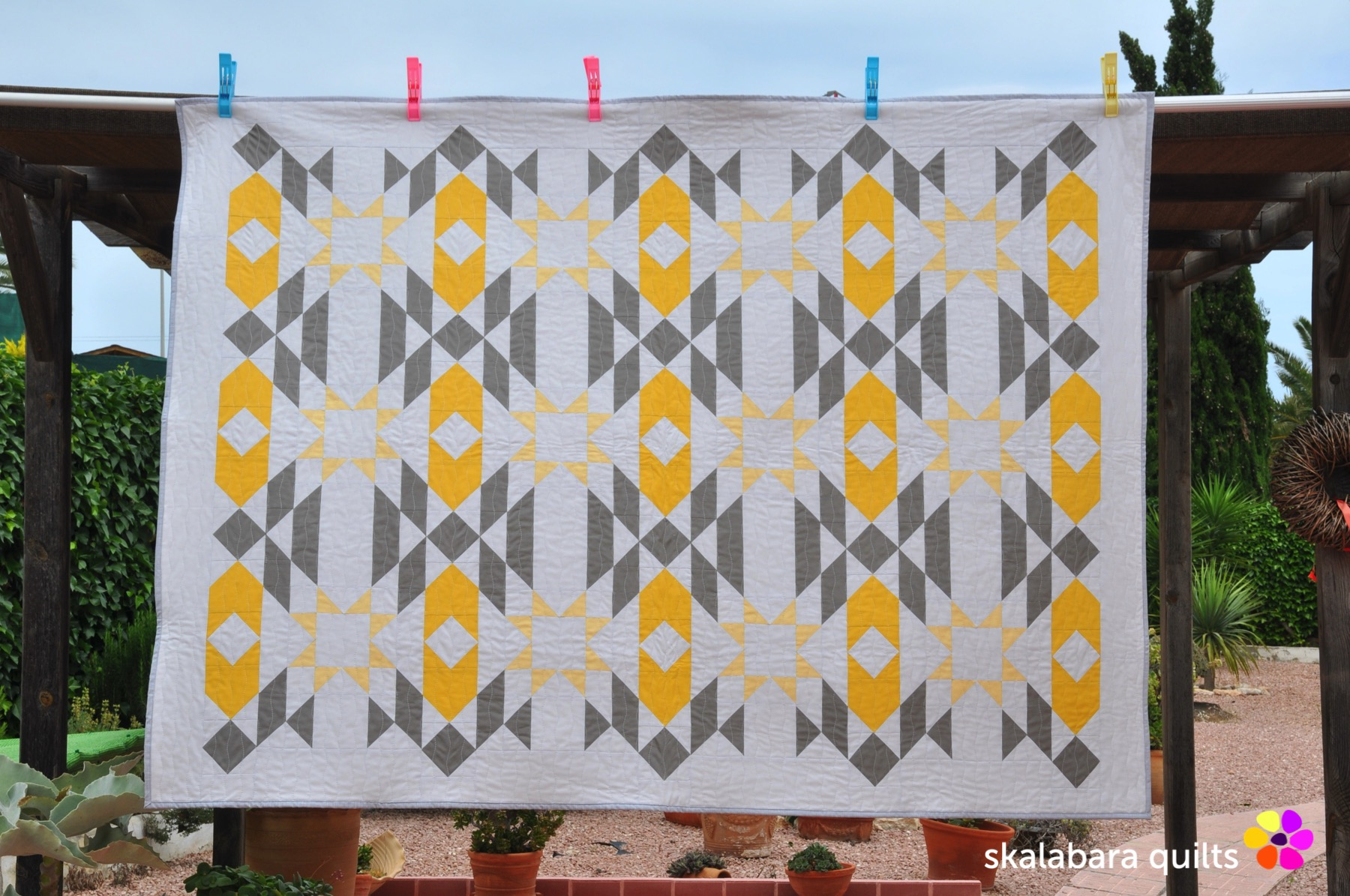 atmosphere quilt 1 - skalabara quilts
