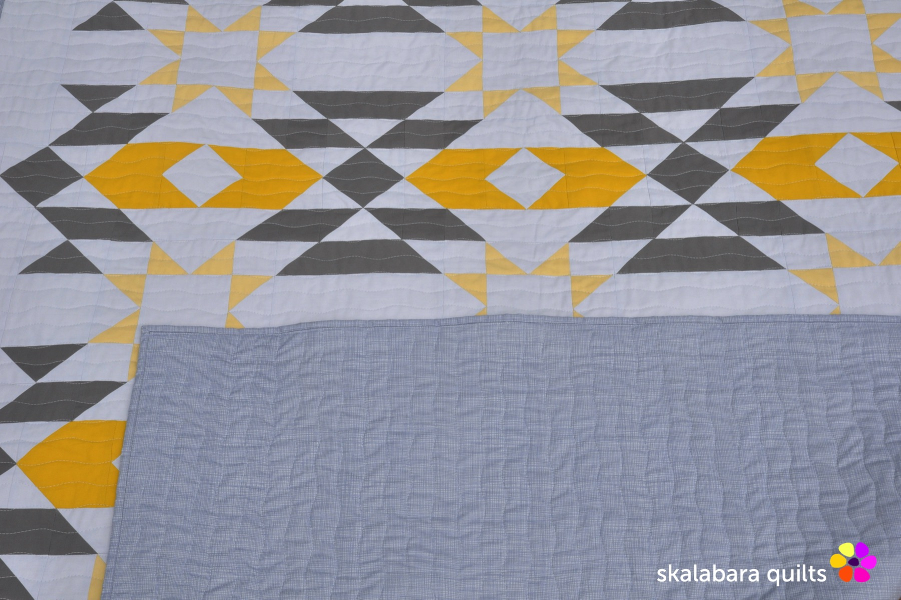 atmosphere quilt back 4 - skalabara quilts