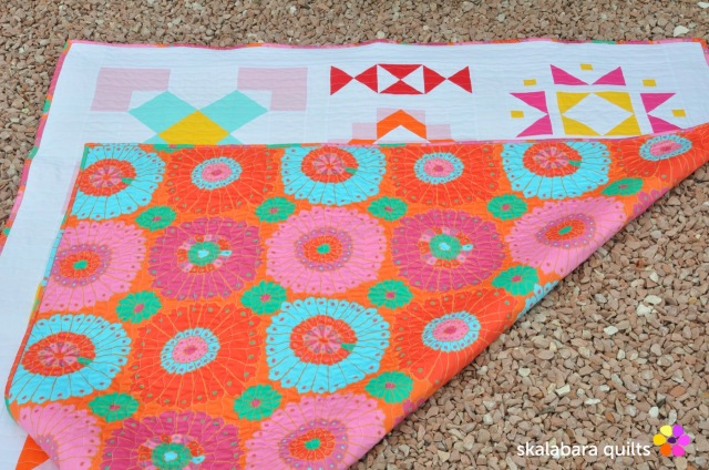 modern sampler back 3 - skalabara quilts