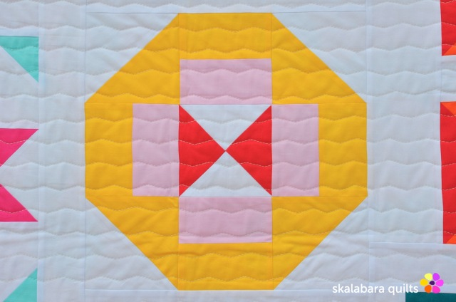 modern sampler detail 1 - skalabara quilts