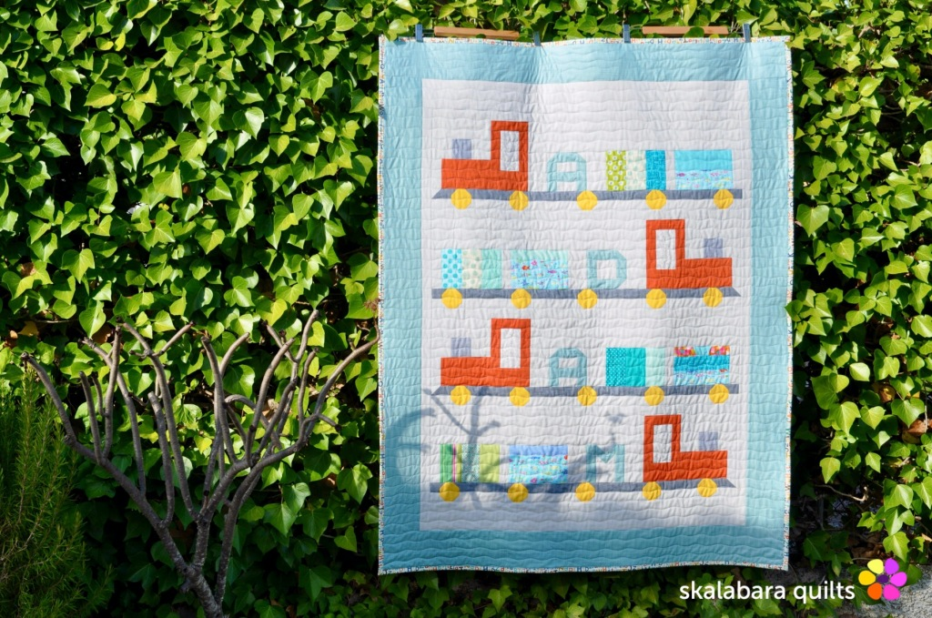 train quilt 4 - skalabara quilts