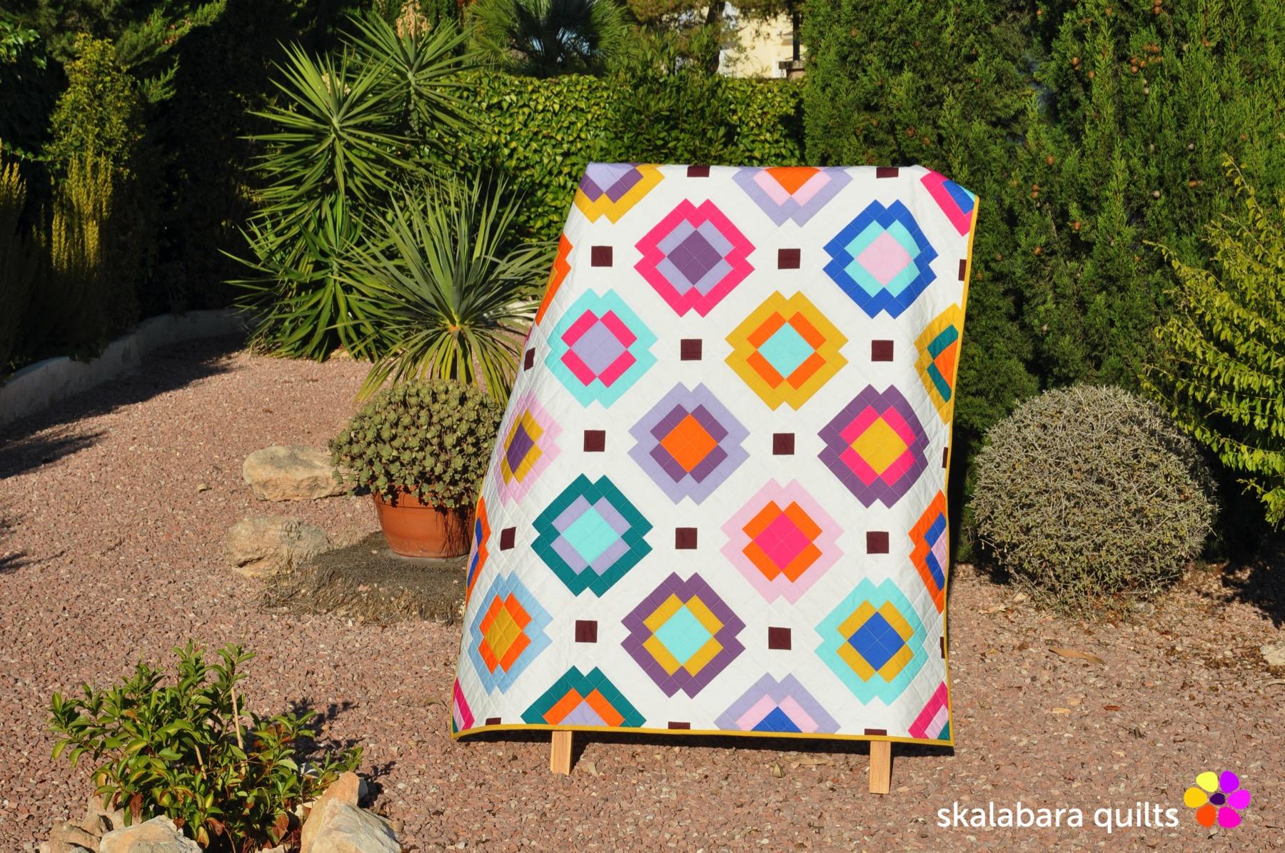 radiate quilt 1 - skalabara quilts