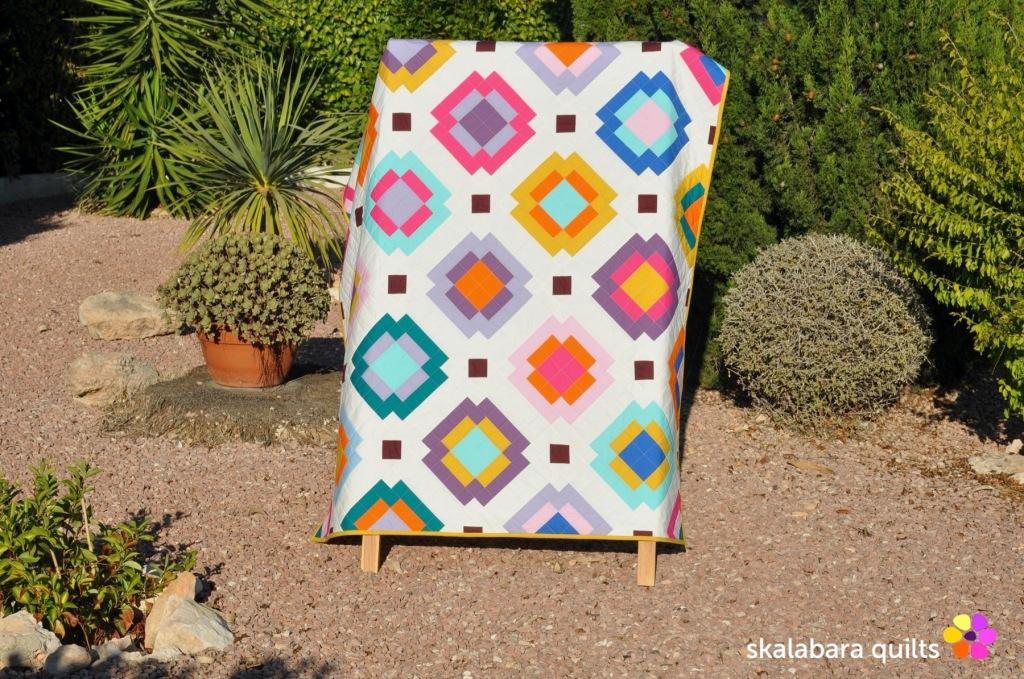 radiate quilt 2 - skalabara quilts