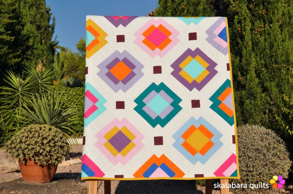 radiate quilt 3 - skalabara quilts