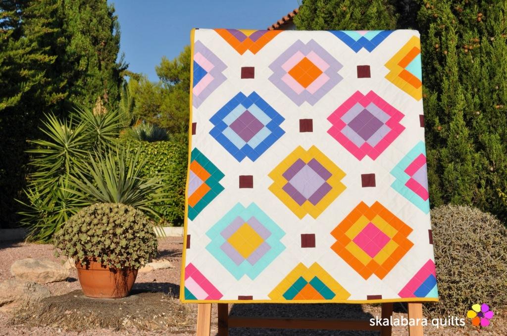 radiate quilt 4 - skalabara quilts