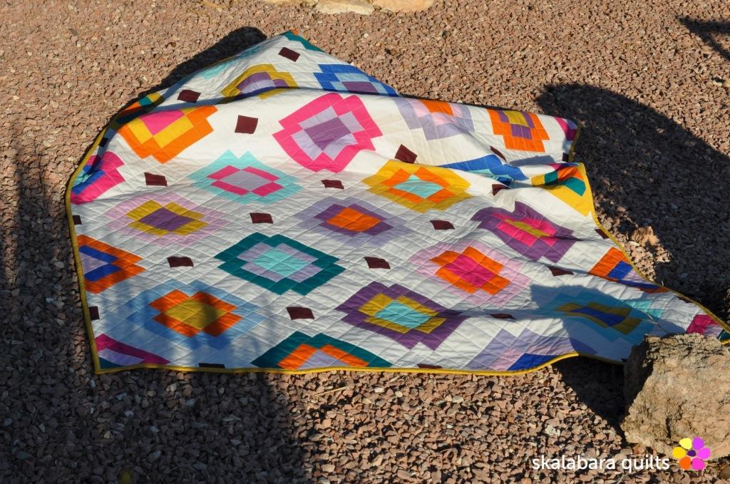 radiate quilt 5 - skalabara quilts