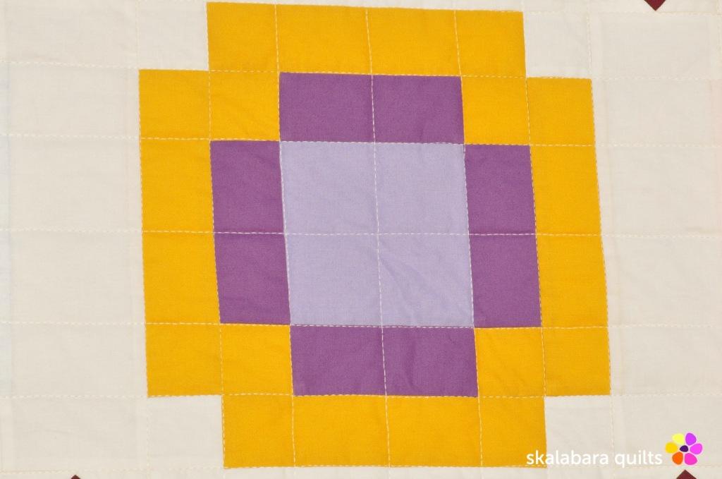 radiate quilt detail 2 - skalabara quilts