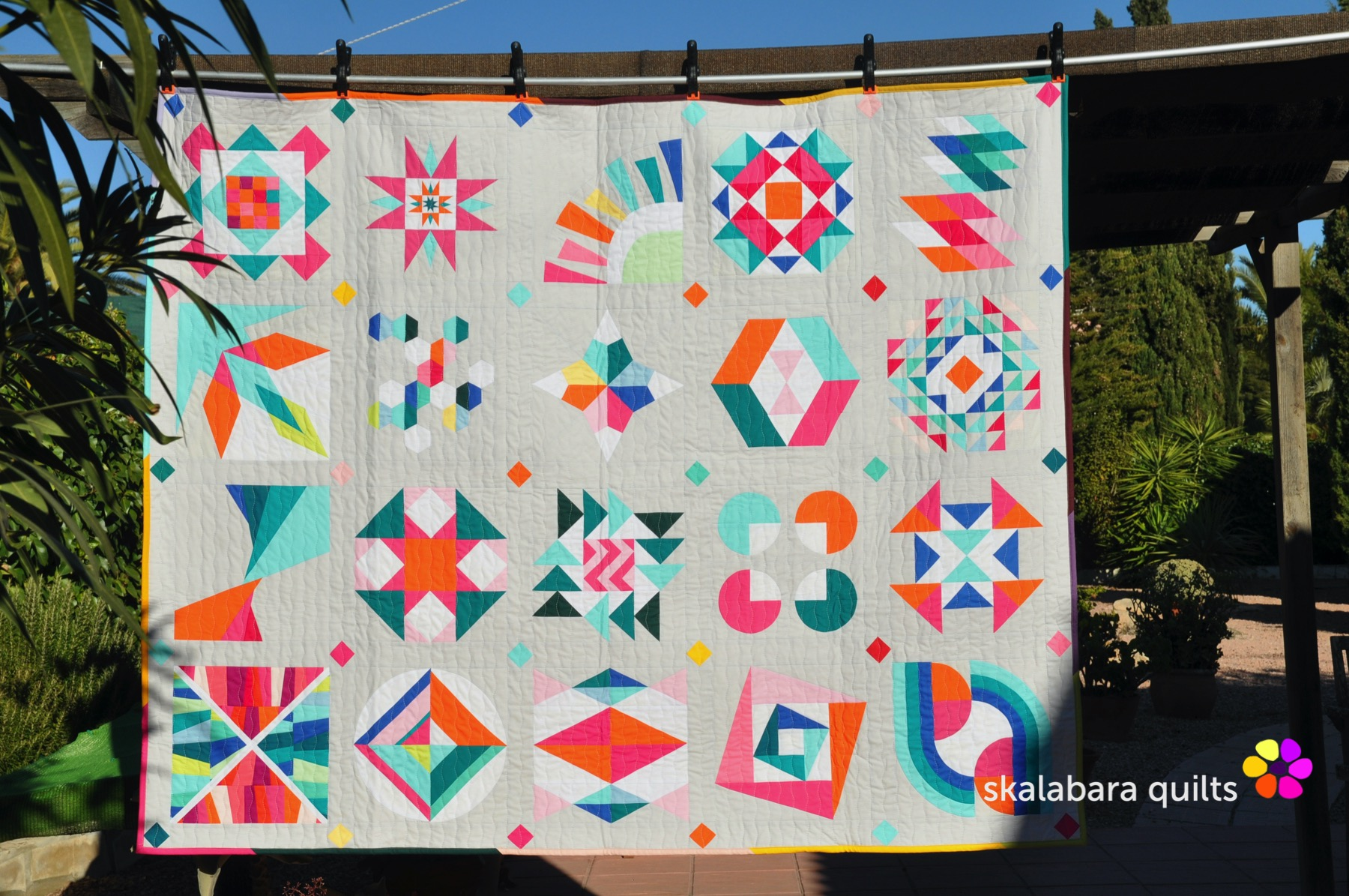summer sampler 2019 - skalabara quilts