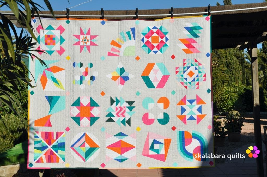 summer sampler 2019 - skalabara quilts