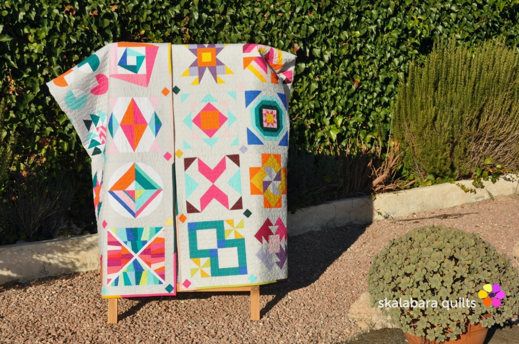 summer sampler 2019 and 2020 - skalabara quilts