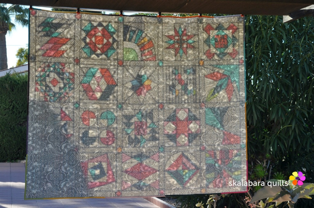 summer sampler 2019 backing   - skalabara quilts