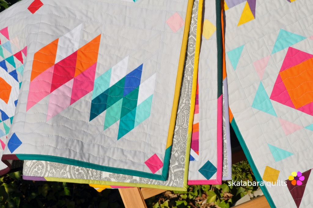 summer sampler 2019 binding 2 - skalabara quilts