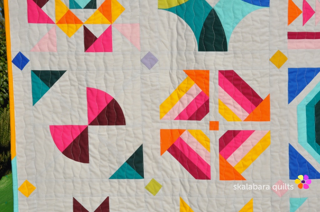 21 summer sampler 2020 detail 3 - skalabara quilts