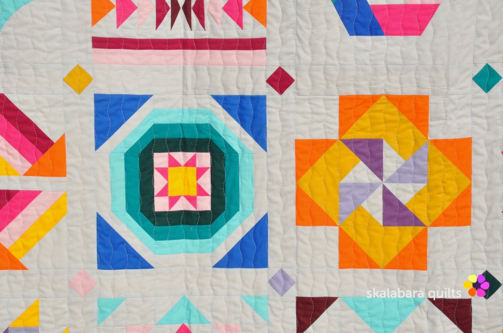 21 summer sampler 2020 detail 4 - skalabara quilts