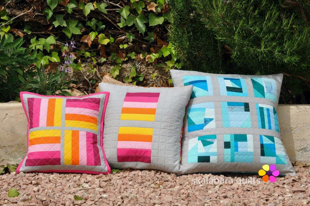 april cushions 2 - skalabara quilts