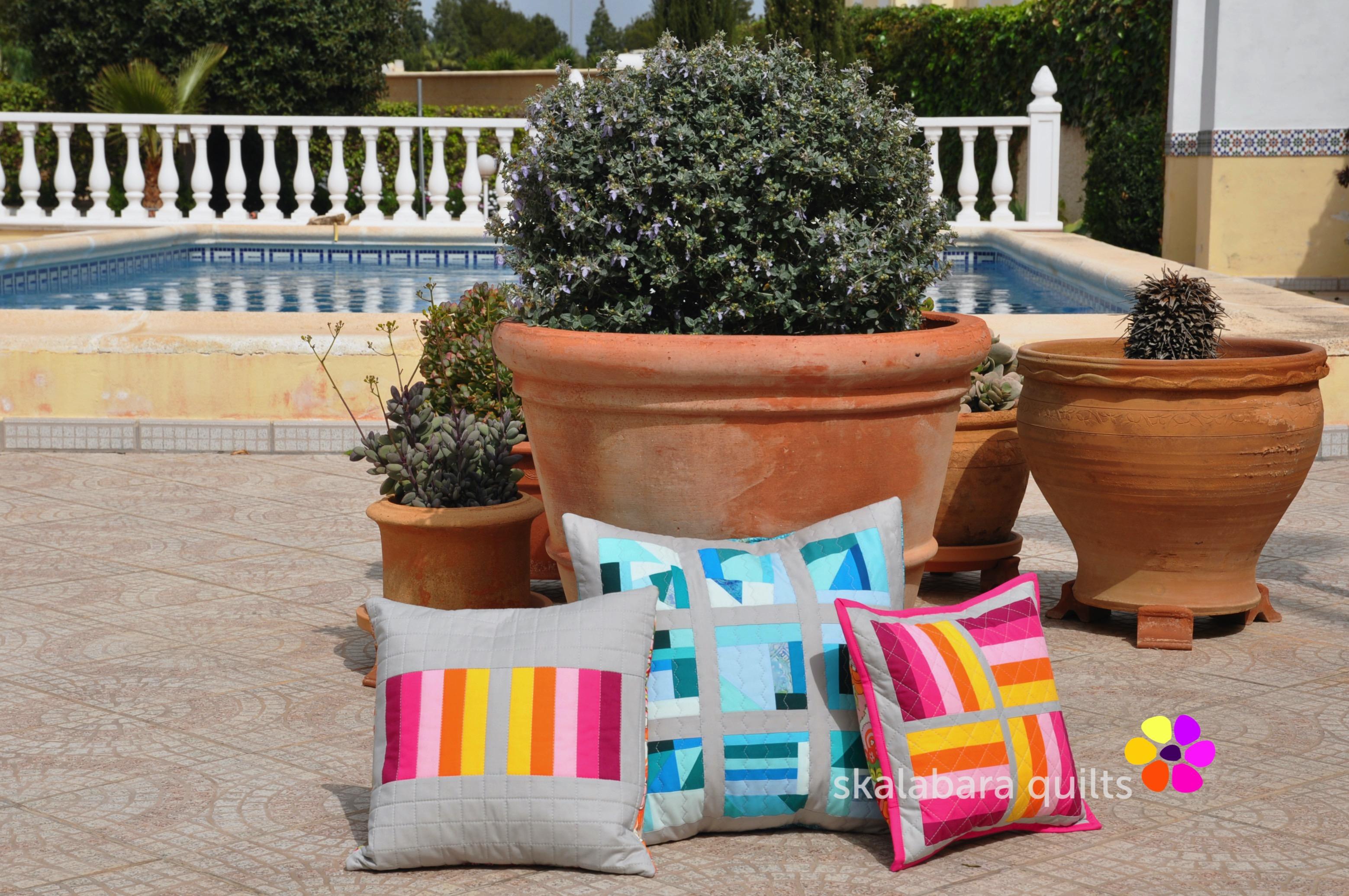 april cushions 3 - skalabara quilts