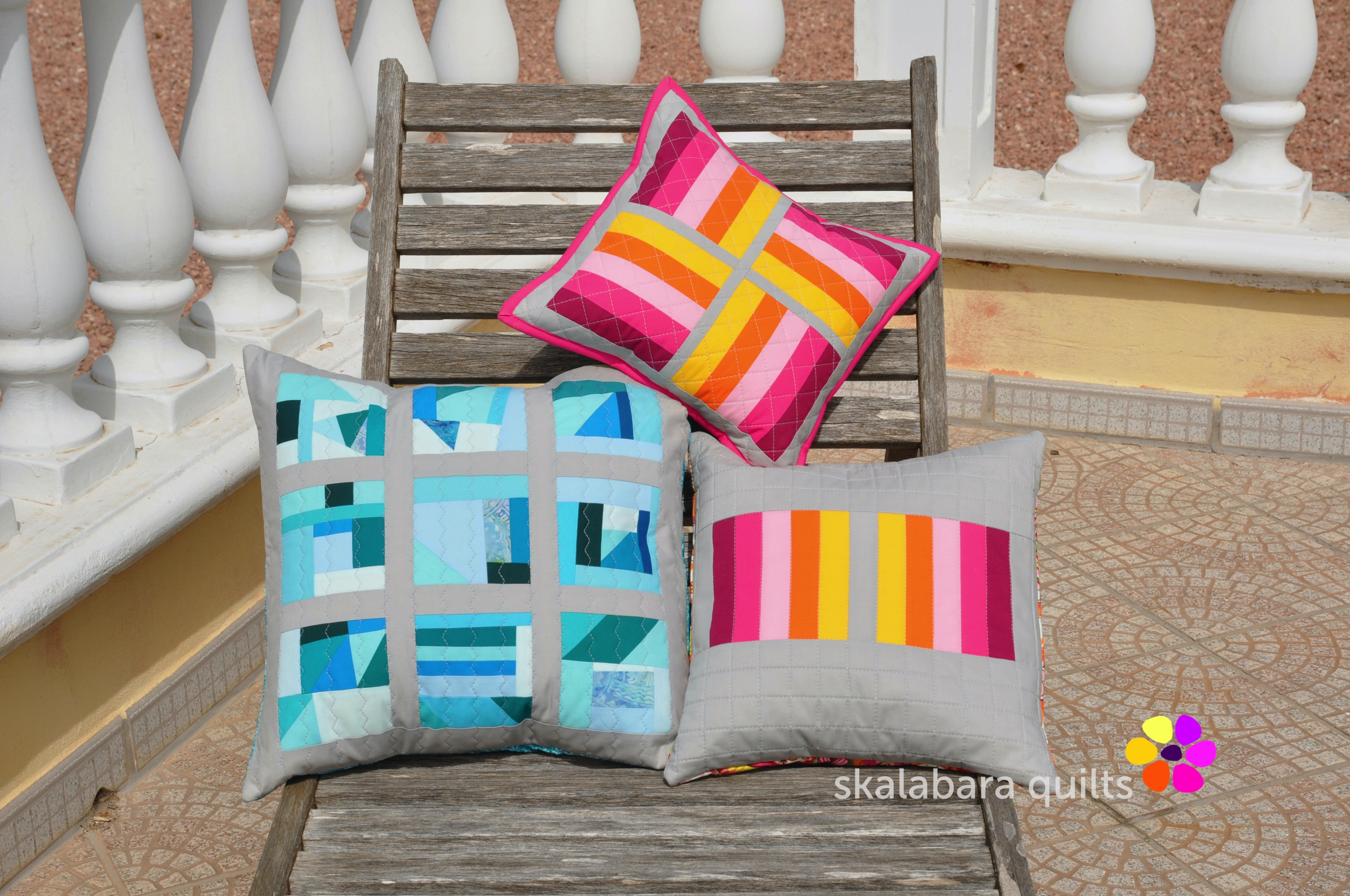 april cushions 5 - skalabara quilts