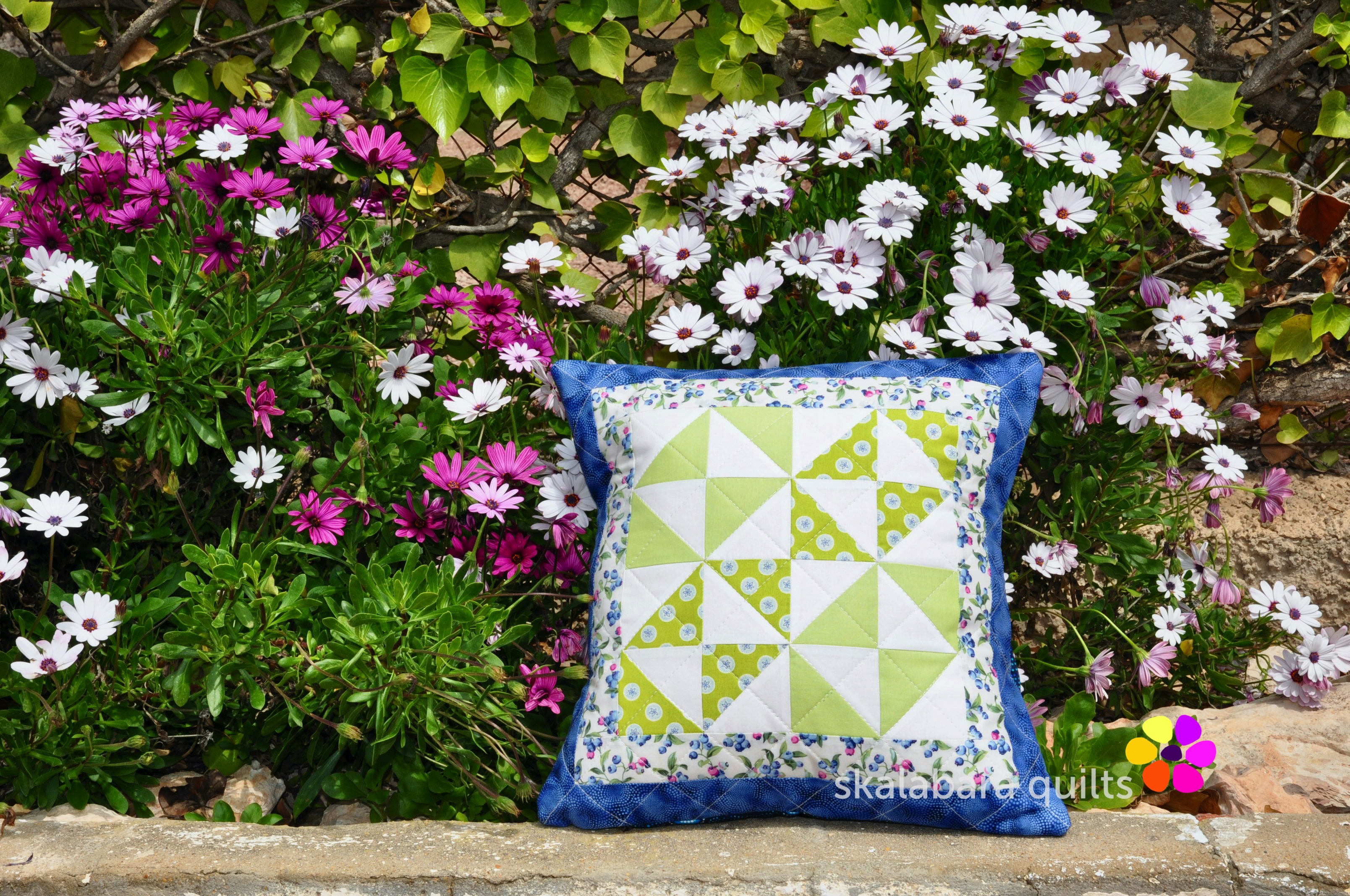 broken dishes cushions 6 - skalabara quilts