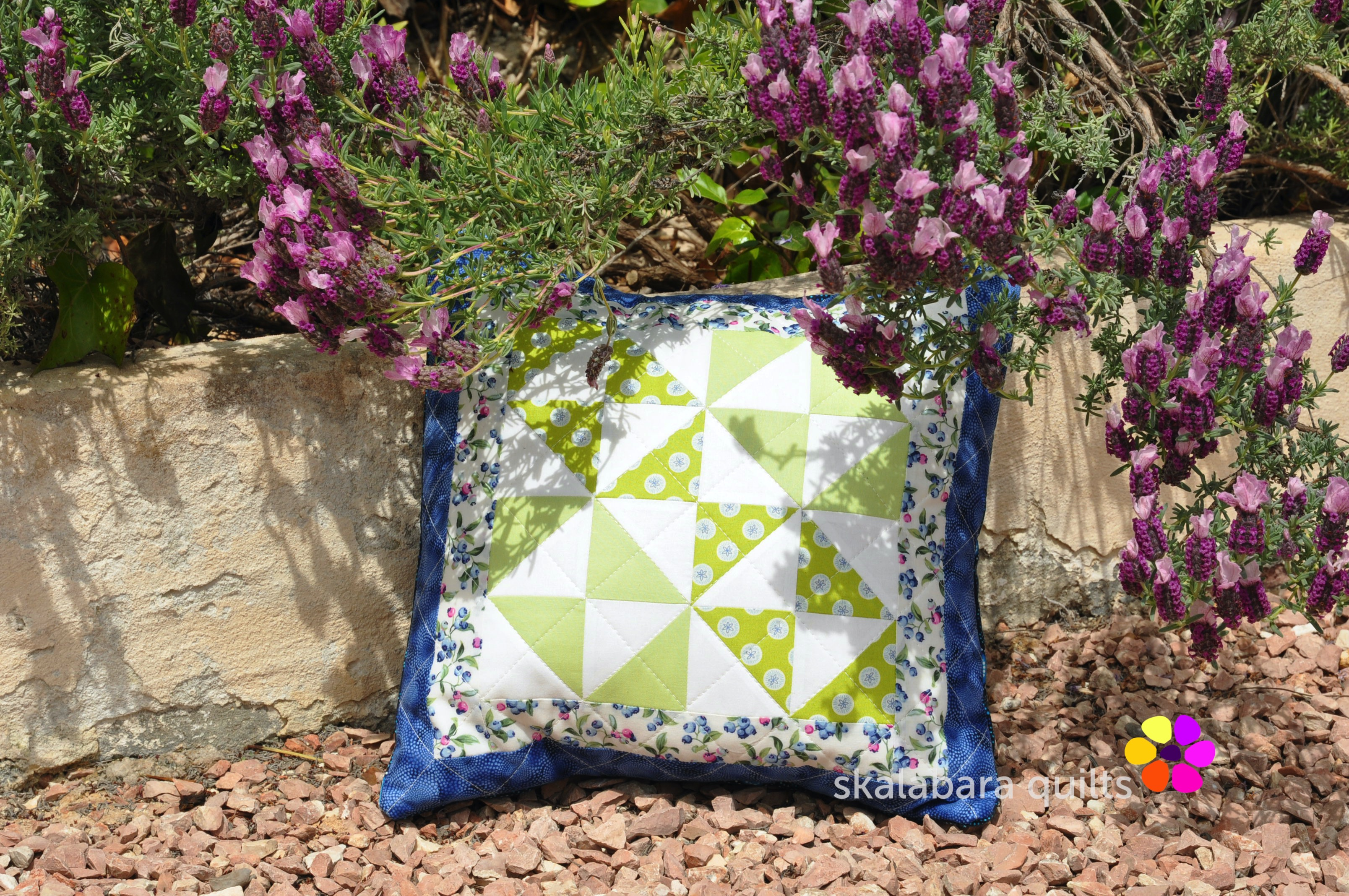 broken dishes cushions 8 - skalabara quilts