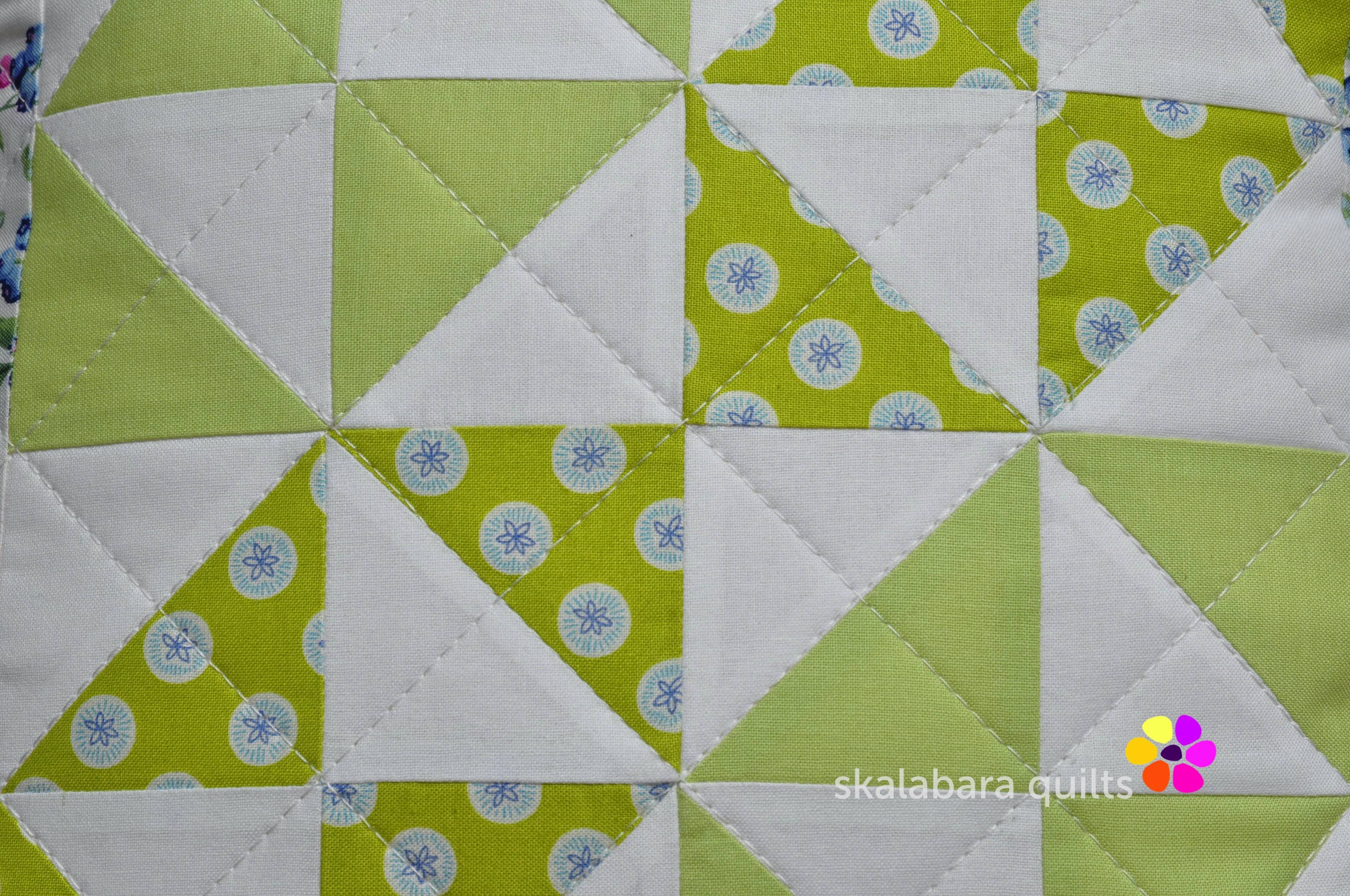 broken dishes cushions detail 2 - skalabara quilts
