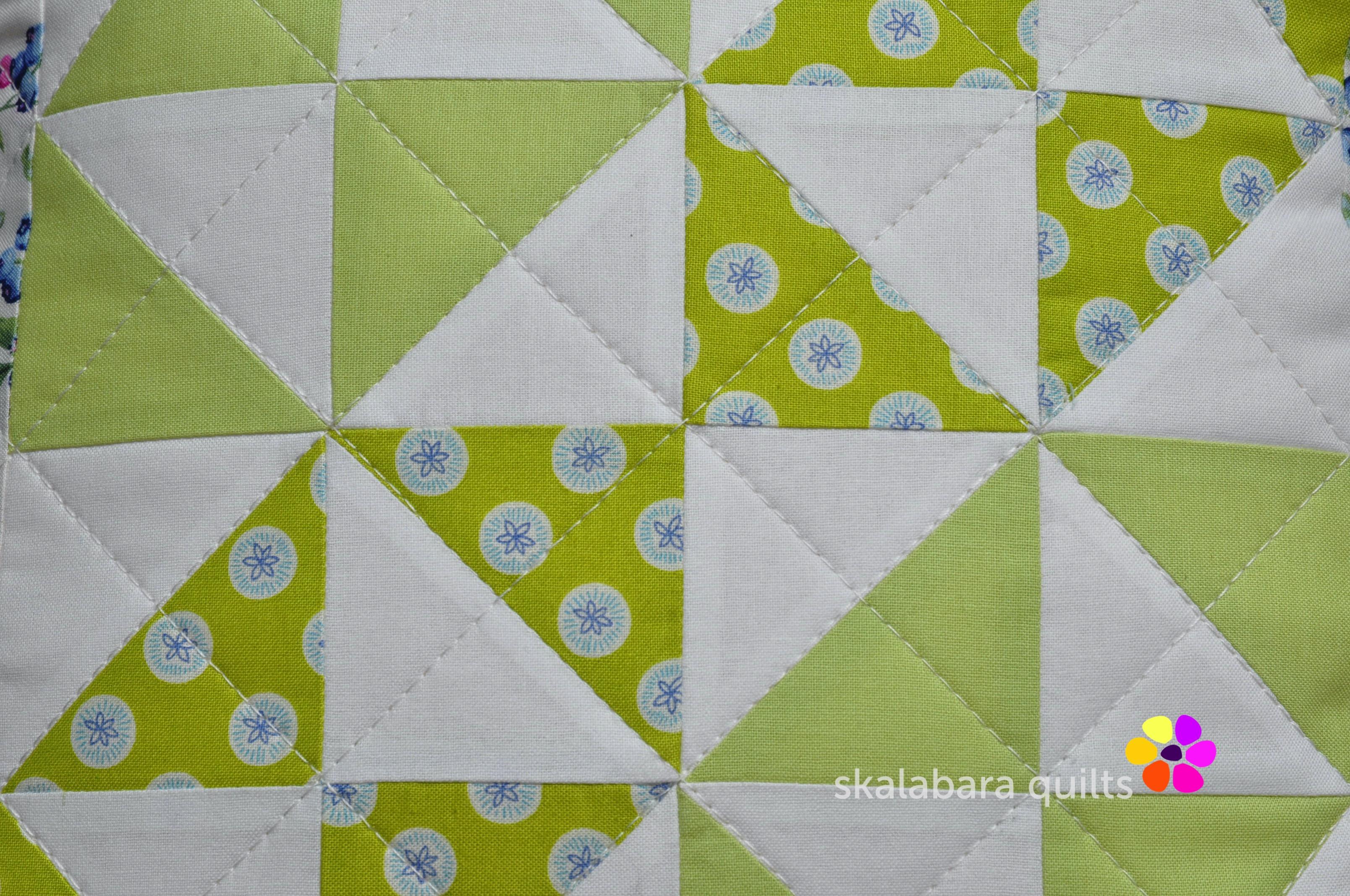 broken dishes cushions detail 2 - skalabara quilts