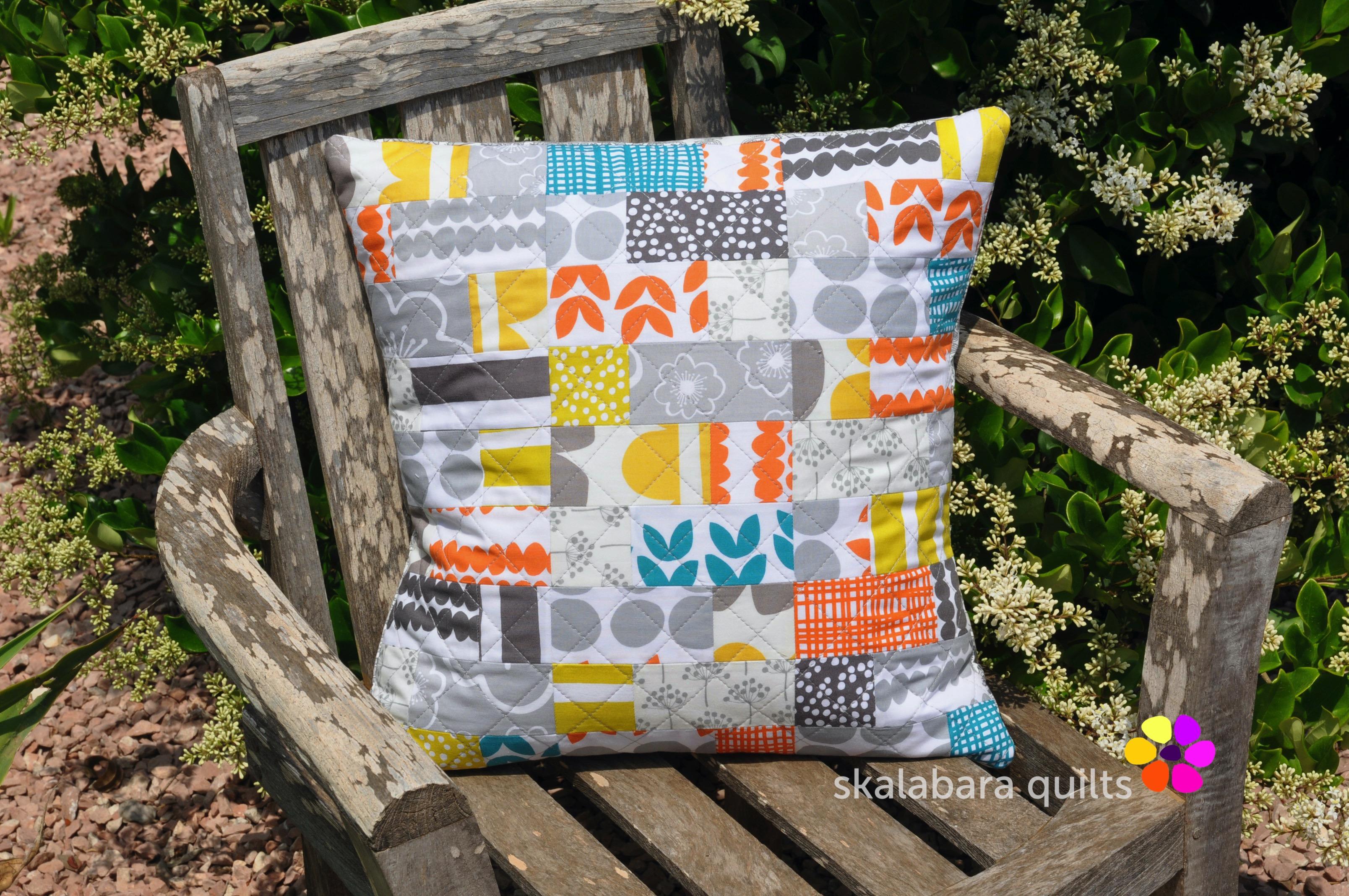 bella cushion cover squares and rectangles 2 - skalabara quilts