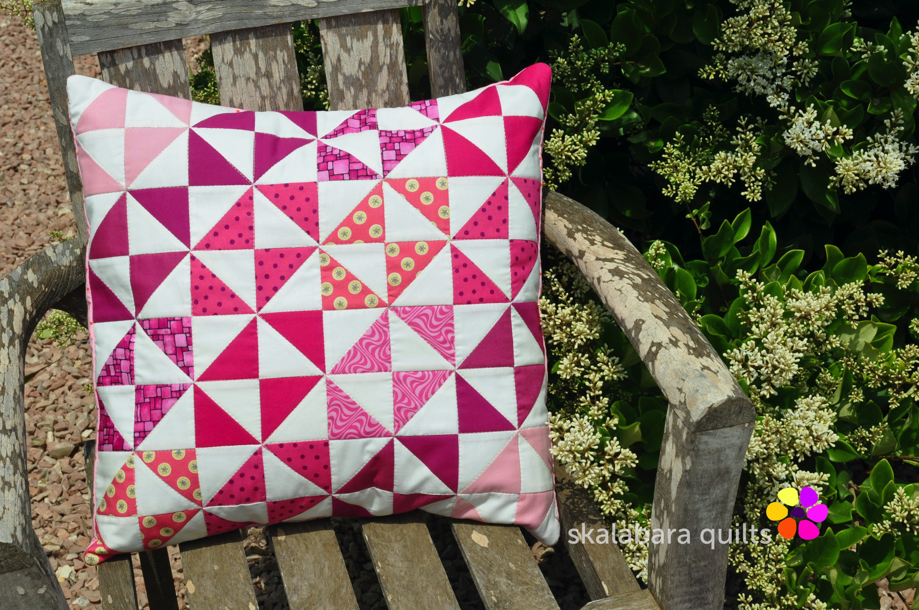 cushion covers broken dishes in pink 8 - skalabara quilts