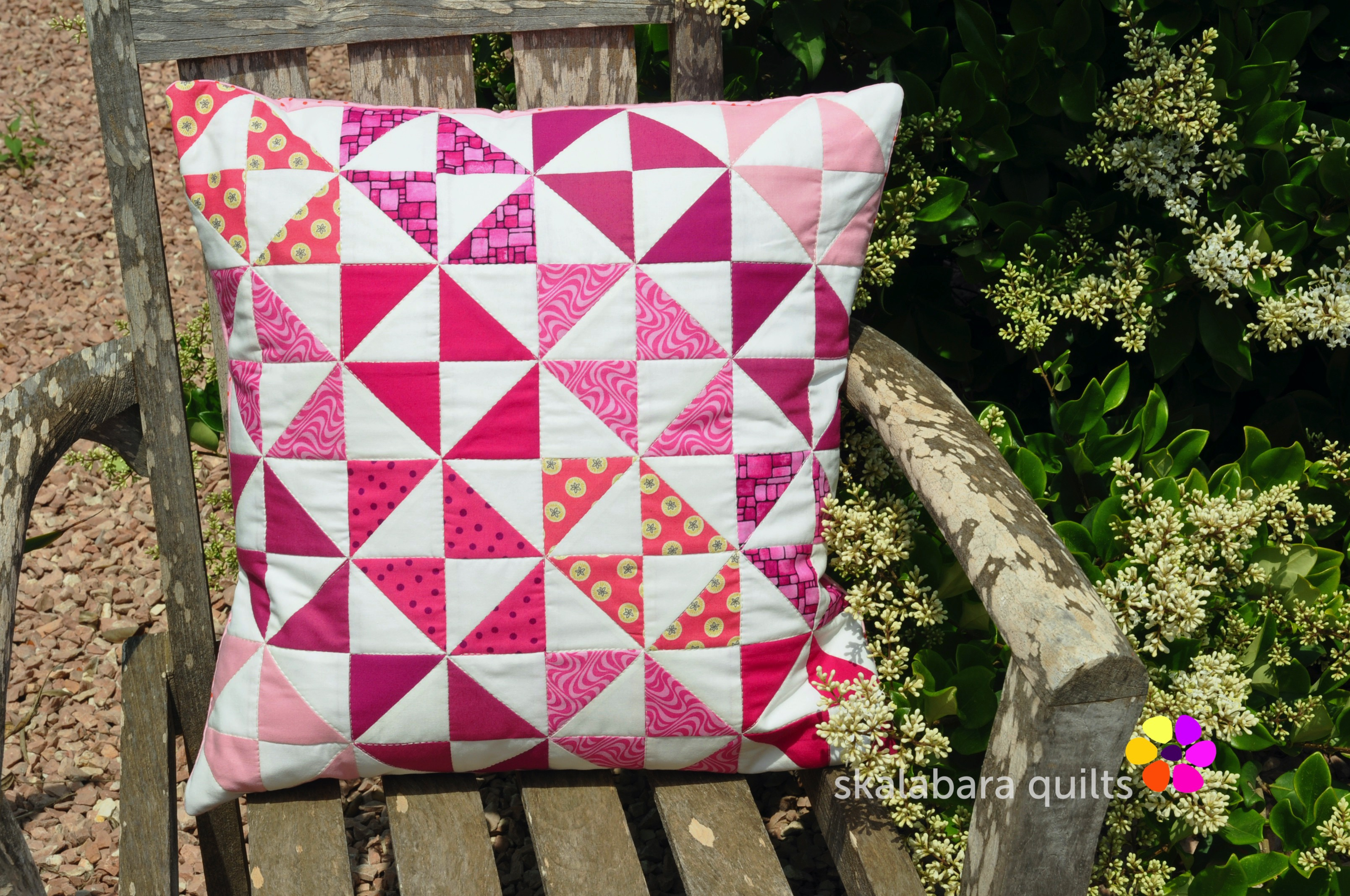 cushion covers broken dishes in pink 9 - skalabara quilts